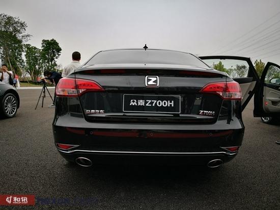 众泰Z700H上市推6款车型 售价10.58-16.58万元