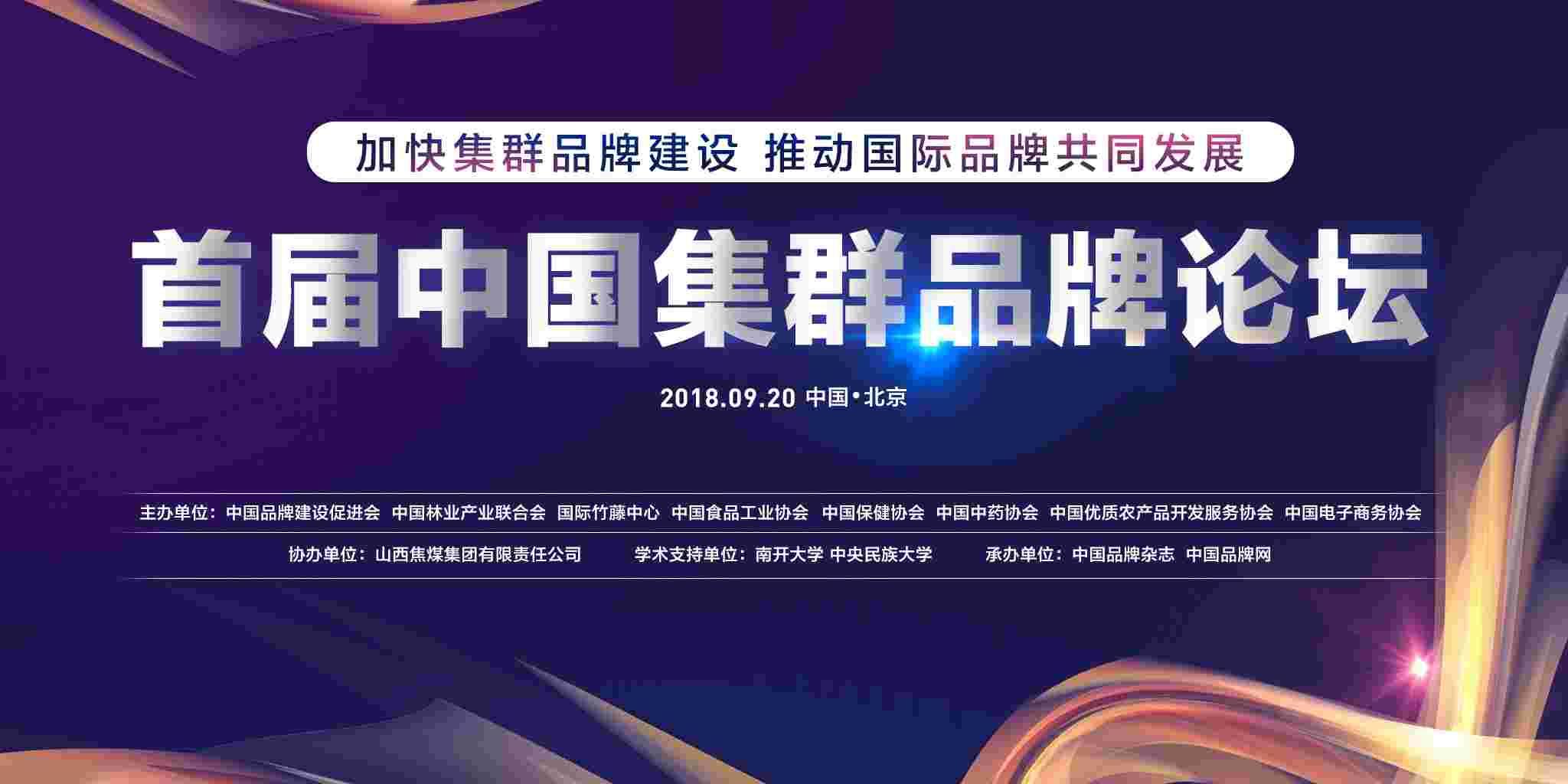 首届中国集群品牌论坛