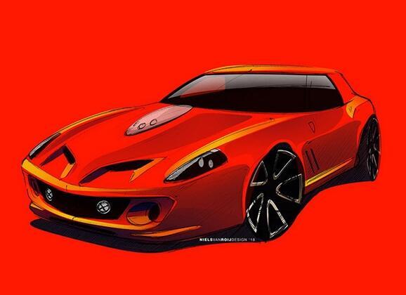 法拉利推新超跑致敬经典:配12缸引擎曾被称面包车