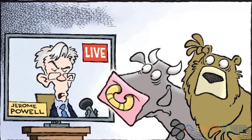 """鮑威爾發言帶有鷹派元素,""""靈活調整""""成貨幣政策主基調"""