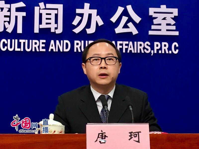 农业屯子部市场与信息化司司长唐珂(中国网 宗超 摄影)
