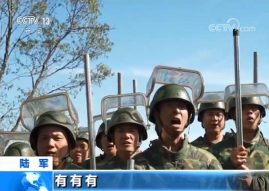 云南扫雷大队战士:有,有,有!