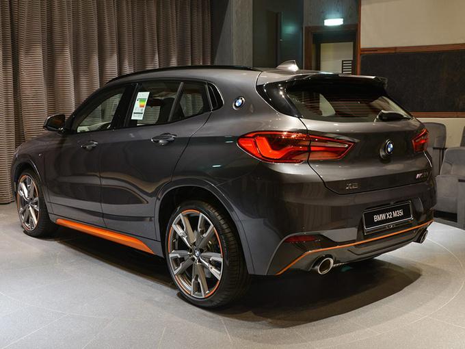 宝马x2性能版到店实拍 专属车身颜色/售价超31万