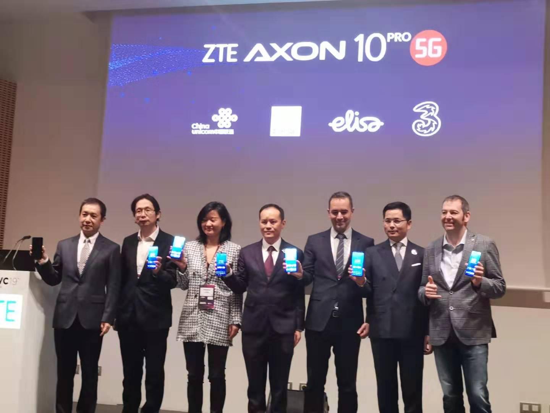 中兴发布首款5G手机,2019年上半年上市