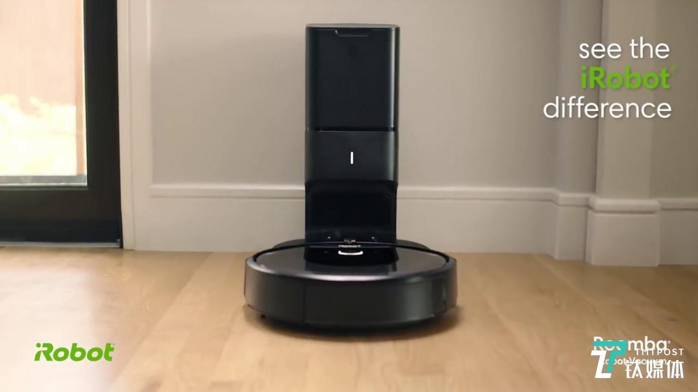 """推出""""自动集尘""""功能,iRobot 要解决扫地机器人的终极痛点"""