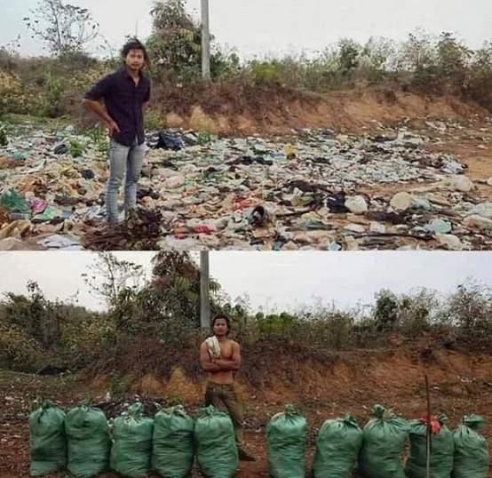火爆Twitter的#Trash Challenge#,平安也来应战!