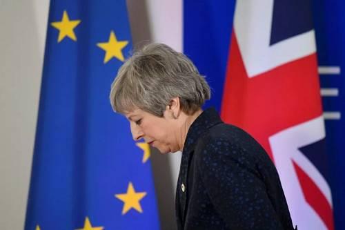 """""""脱欧""""大限临近,欧盟领导人""""重置""""了英国""""脱欧""""时间表,将3月29日的最后期限推迟至5月22日。"""