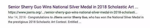 """在该校的官网上以""""Sherry Guo""""为搜索,页面也全是""""404 页面不存在""""。"""