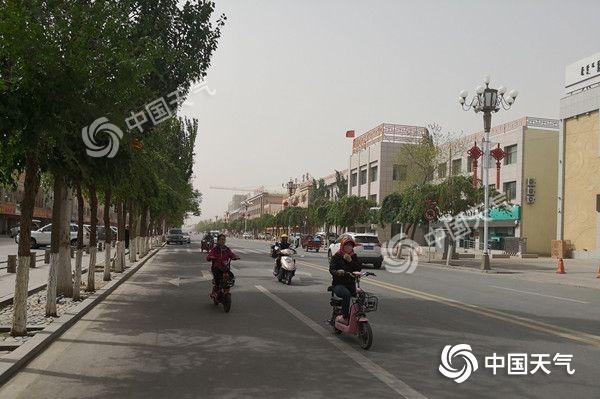 未来三天内蒙古风雨交加气温低 局地降温超10℃伴沙尘暴
