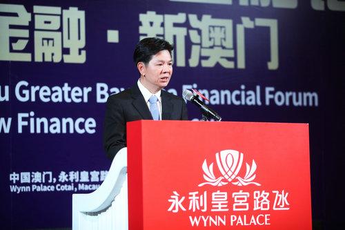 叶兆佳:激发湾区金融开展新动能 加速澳门多元开展脚步