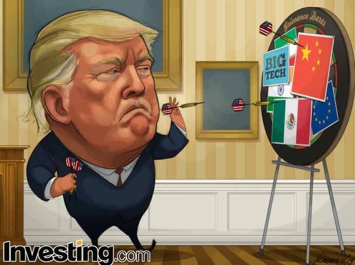 """美墨没谈拢?美股期货闪跌今晚""""超级马里奥""""会否放大招,中国最大外汇返佣网"""