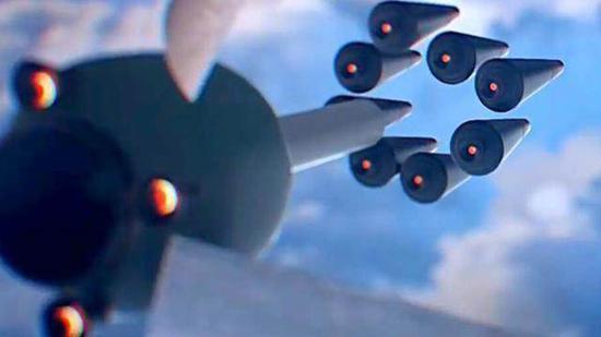暗藏抨击与众弹头是096潜艇的特色