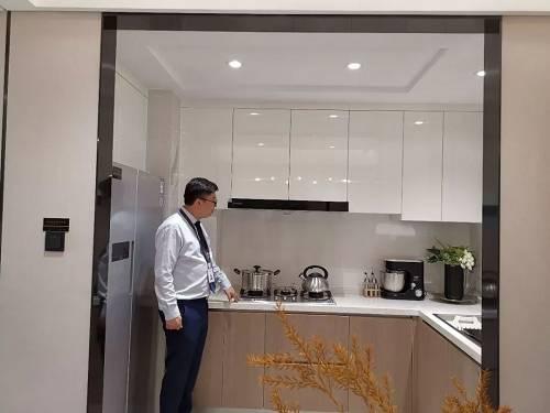 中海望京府139�O样板间内厨房实景图