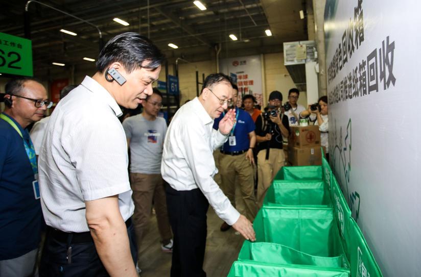菜鸟联合四通一达升级绿色回收箱国家邮政局:经济实惠很好