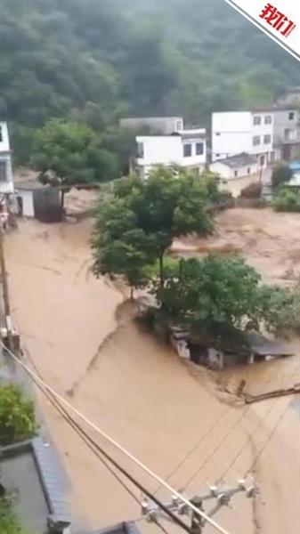安康强降雨引洪水 部分道路交通中断