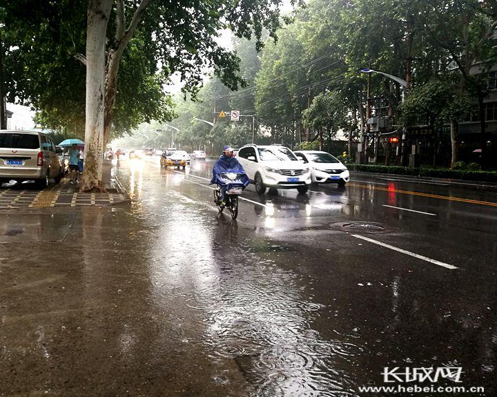 易县甘河降雨量128.3毫米 河北继续发布暴雨蓝色预警