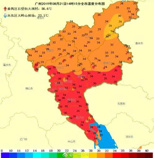 """三伏天都过了,广州却越来越热!何时降温?刚刚新台风""""白鹿""""已生成"""