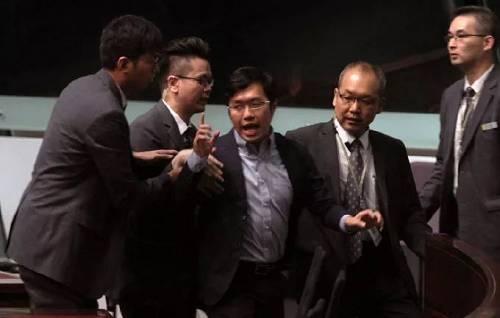 区诺轩:香港反对派立法会议员