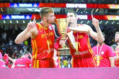 西班牙队问鼎篮球世界杯