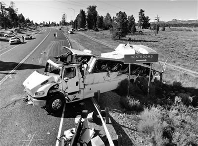 美犹他州车祸致多名中国人伤亡