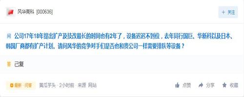 董秘日报:西藏矿业董秘史上最形象回应 风华高科董秘史上话最少