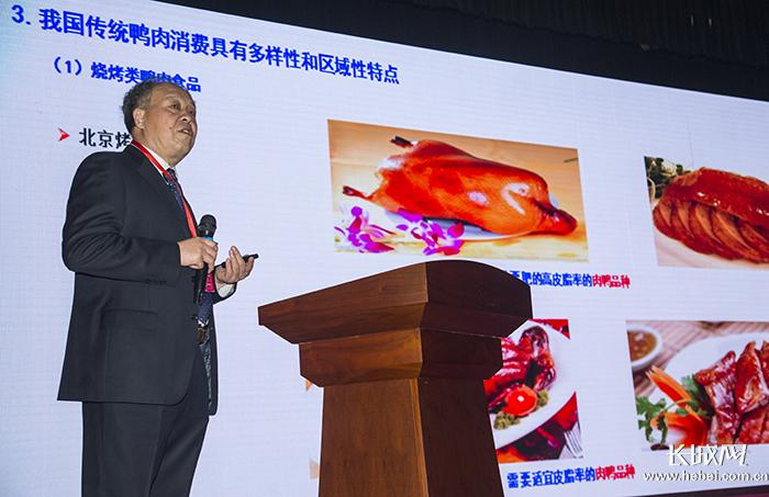 """肉鸭论坛_""""第二届中国烤鸭产业高峰论坛""""活动在河北献县举办-新闻频道 ..."""