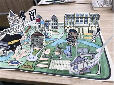 颜值爆表!看人家高校的手绘校园地图