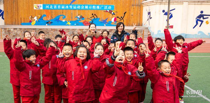 广安大街小学:冰雪运动带来校园