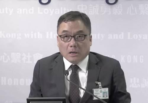 有组织罪案及三合会调查科高级警司李桂华
