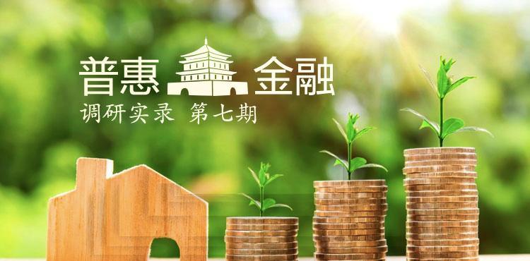 普惠金融调研第七期:开花结果的