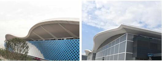 """深圳国际会展中心""""不止于大""""系列:毫发无损!全球最大展馆屋面正面硬刚14级台风"""