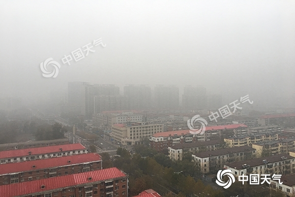 河北拉响大雾红色预警 今起三天仍有大范围雾和霾天气