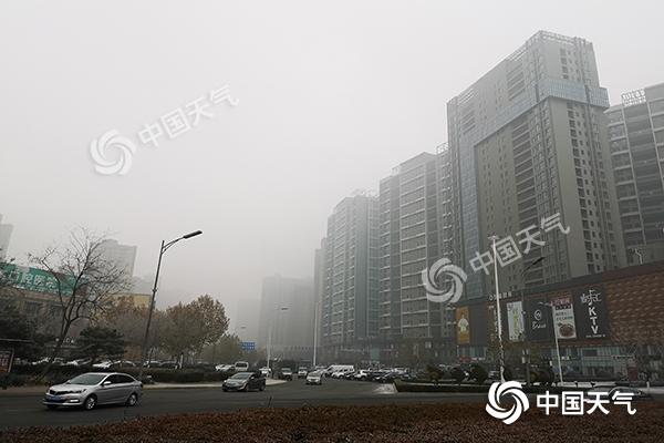 今早河北八成高速因雾封闭 明后天冷空气到来驱雾赶霾
