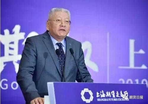 上海期货交易所理事长 姜岩