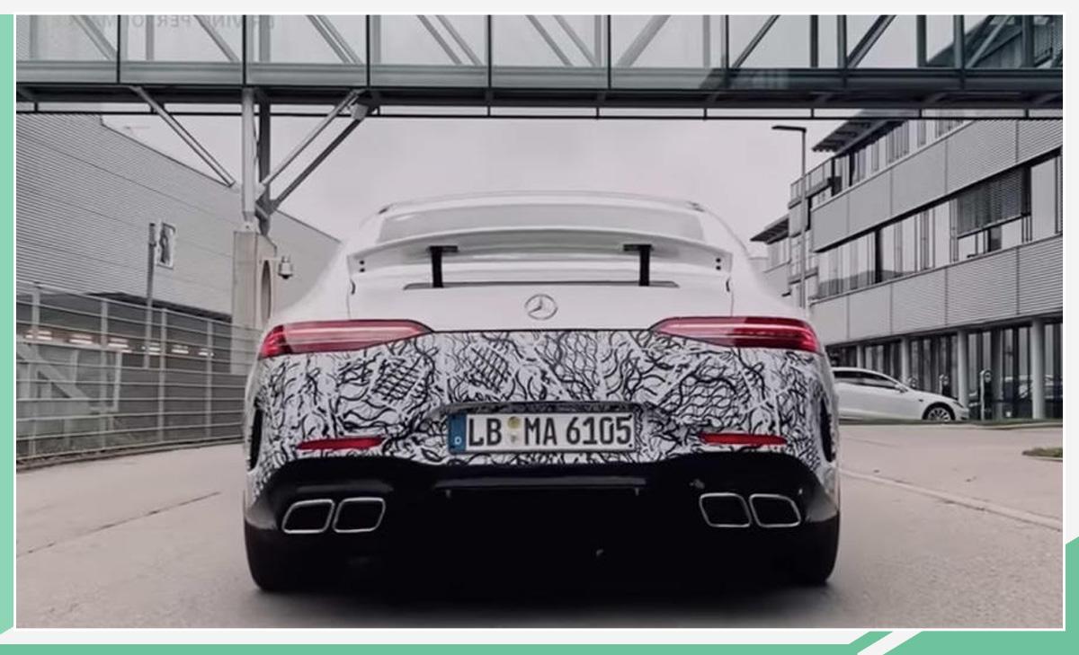 AMG GT 73预告图曝光 3秒内破百/日内瓦车展亮相