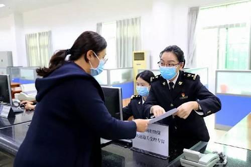 又一批口罩已到达!郑州海关单日验放邮递渠道进境口罩18.8万个