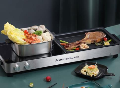 宅家解锁厨房技能,烤涮一体锅不能少
