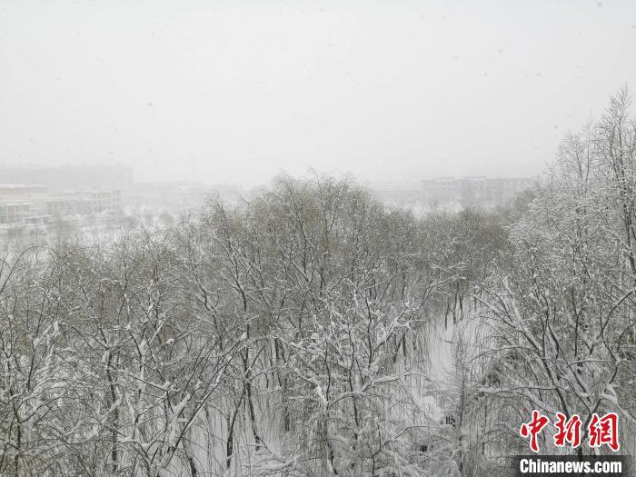 宁夏发布暴雪橙色预警 部分地区累计降雪量超10毫米