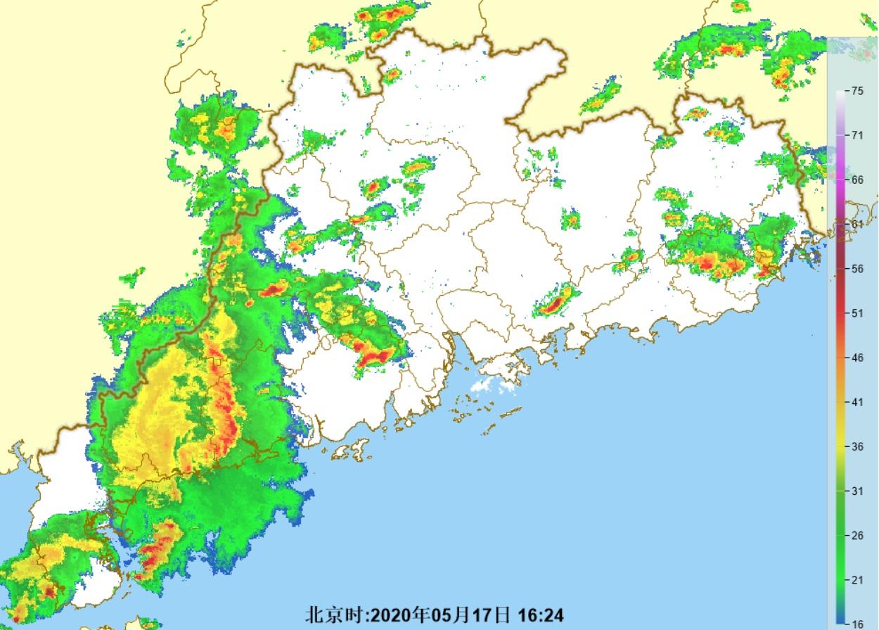 雷雨+大风!17日夜间起暴雨再至 广东全省将受影响