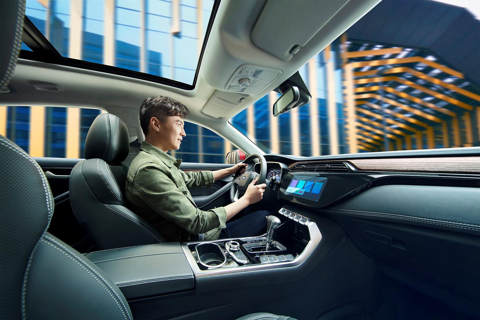 江铃福特领恐怖界S今日正式上市 搭载腾讯TAI汽甚至是�w升车智能系统