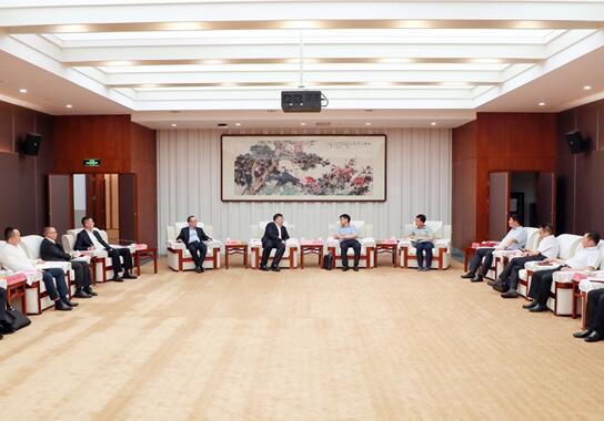 茅台与苏宁集团座谈