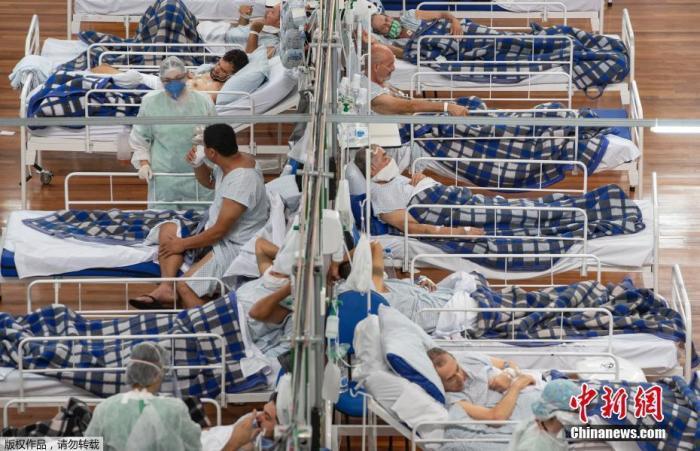 巴西新冠肺炎死亡人数升至全球第二 疫情仍处于上升期