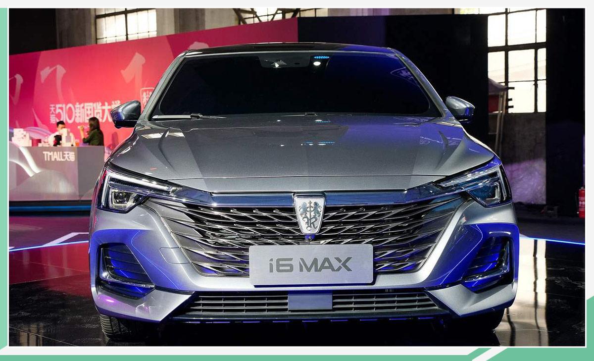 外观大气/配全新狮标 荣威i6 MAX将于下半年上市