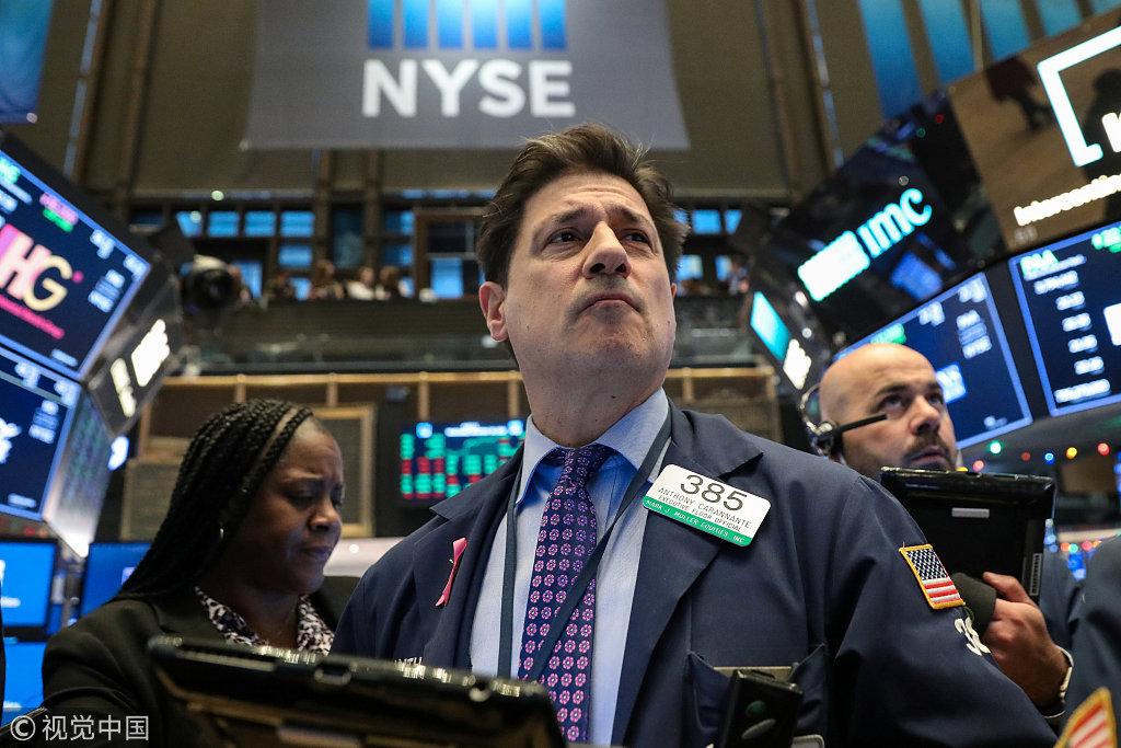 加州撤回开放致美股盘中下跌 特斯拉回吐后跌幅超过3%