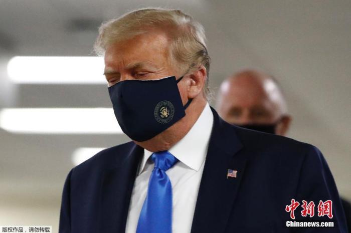 美国新冠肺炎确诊近390万人 特朗普建议民众佩戴口罩
