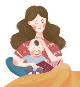 你是第一次当宝宝,我也是第一次当妈妈