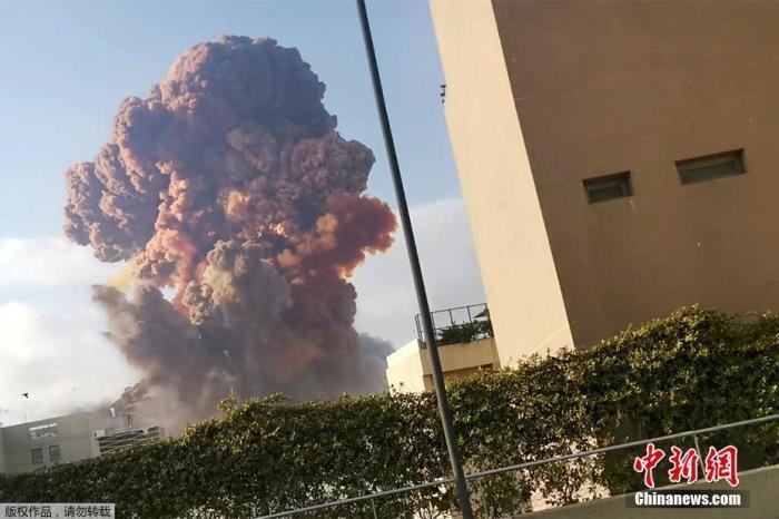 黎巴嫩爆炸致157死数千伤!16名涉事港口雇员被逮捕
