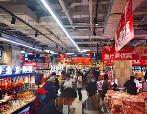永辉超市强势入驻西藏 全国已开业门店达945家