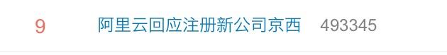 阿里云回应新公司京西:随口起的,没想到被热搜,决定改名