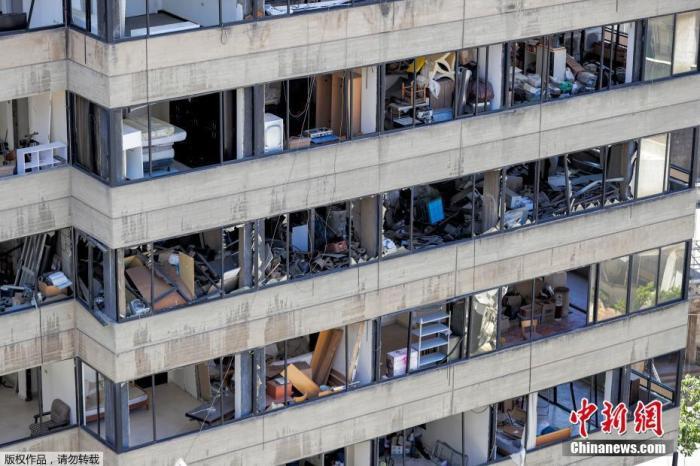 世界银行:贝鲁特爆炸或造成多达46亿美元实际损失